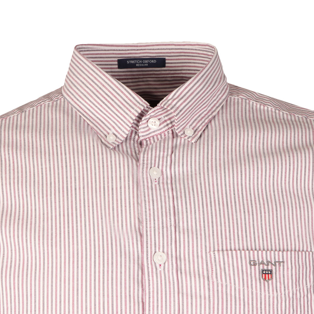 Stretch Oxford Stripe LS Shirt main image