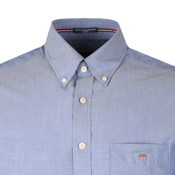 Gant Mens Blue L/S Broadcloth Shirt main image