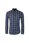 Gant Mens Blue Nordic Plaid LS Shirt