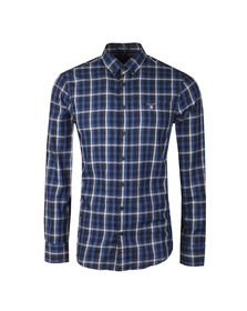 Gant Mens Blue Nordic Plaid LS Shirt