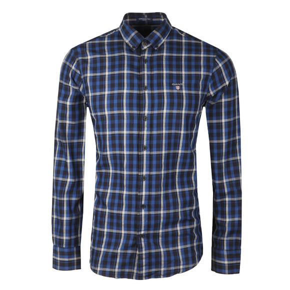 Gant Mens Blue Nordic Plaid LS Shirt main image