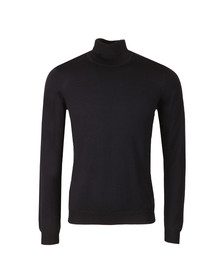 J.Lindeberg Mens Blue Lyd True Merino Turtle Neck
