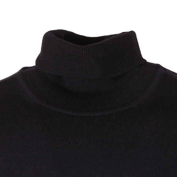 J.Lindeberg Mens Blue Lyd True Merino Turtle Neck  main image