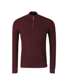 Ted Baker Mens Purple L/S Knitted Funnel Neck