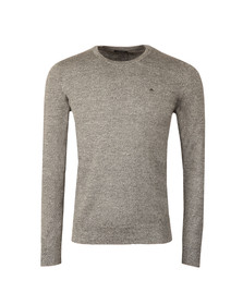 J.Lindeberg Mens Black Lyle Merino Knit Jumper