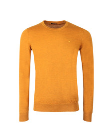 J.Lindeberg Mens Yellow Lyle Merino Knit Jumper