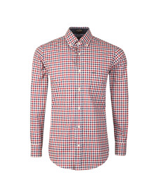 Paul & Shark Mens Blue Gingham Check Shirt