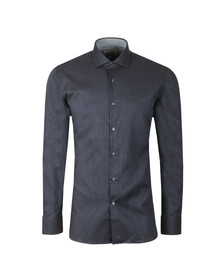 Ted Baker Mens Blue Wreeth L/S Endurance Shirt