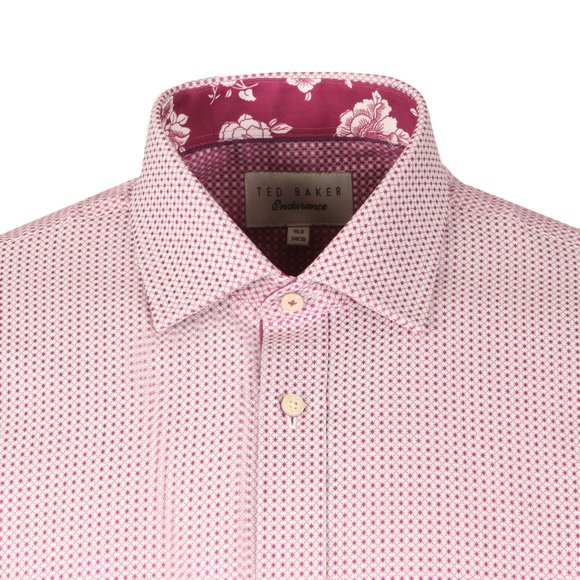 Ted Baker Mens Pink Eager Endurance Shirt main image
