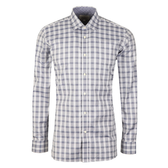 Ted Baker Mens Blue Krave Endurance Sterling Shirt main image
