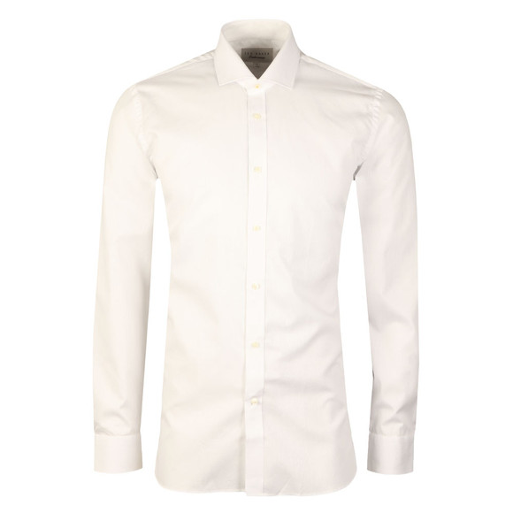Ted Baker Mens White Buckley L/S Endurance Shirt main image