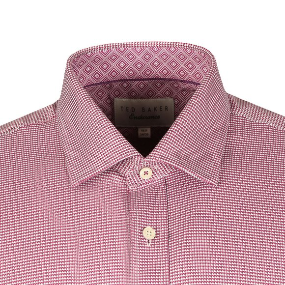 Ted Baker Mens Pink Chimy L/S Endurance Shirt main image