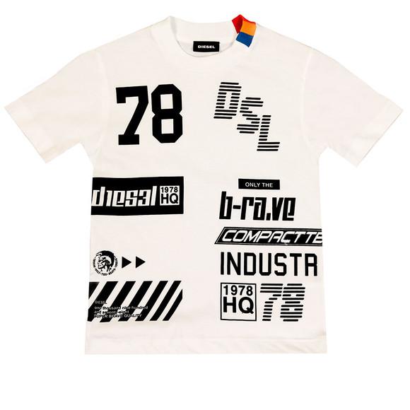 Diesel Boys White Boys Tangx T Shirt main image