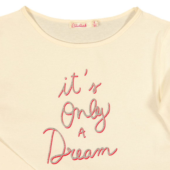 Billieblush Girls White Dream T Shirt main image
