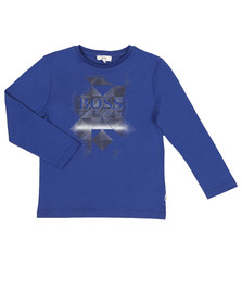 Boss Boys Blue J25B21 T Shirt