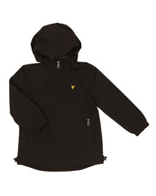 Lyle And Scott Junior Boys Black Pull Over Anorak