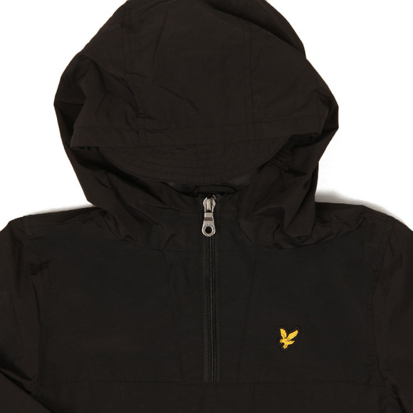 Lyle And Scott Junior Boys Black Pull Over Anorak main image