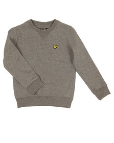 Lyle And Scott Junior Boys Grey Classic Crew Sweatshirt