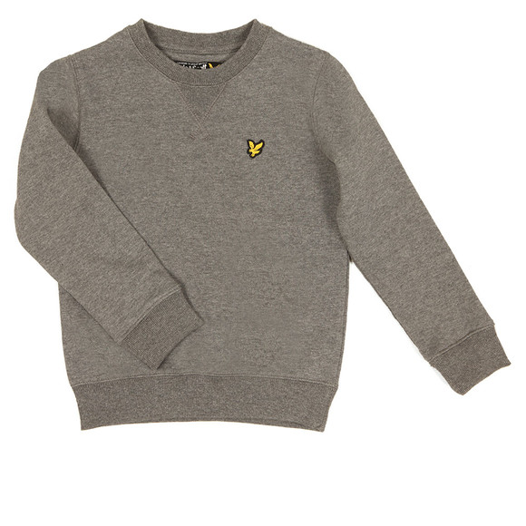 Lyle And Scott Junior Boys Grey Classic Crew Sweatshirt main image
