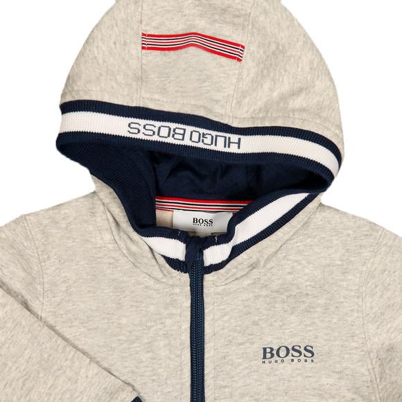 BOSS Bodywear Boys Grey Baby J05588 Hoody main image