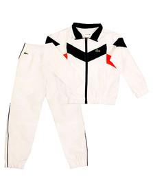 Lacoste Sport Boys White WJ8813 Track Suit