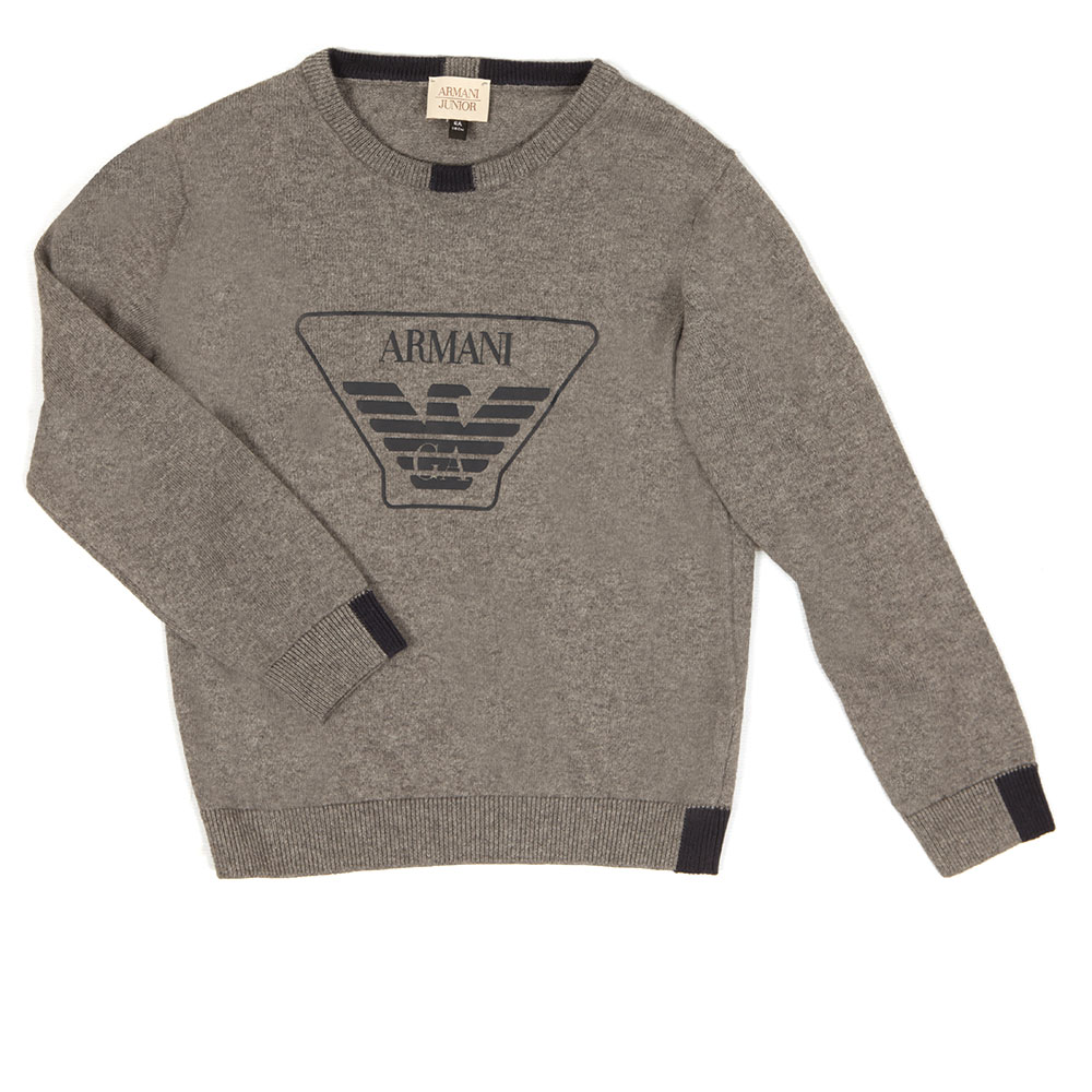 Large Logo Knitted Jumper main image