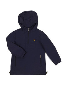 Lyle And Scott Junior Boys Blue Pull Over Anorak