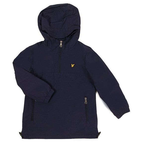 Lyle And Scott Junior Boys Blue Pull Over Anorak main image
