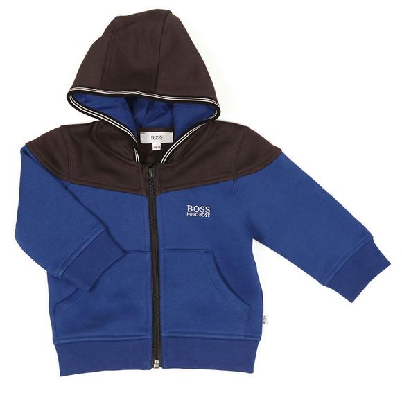 BOSS Boys Blue Baby J08025 Track Suit main image