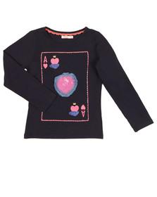 Billieblush Girls Blue U15465 T Shirt