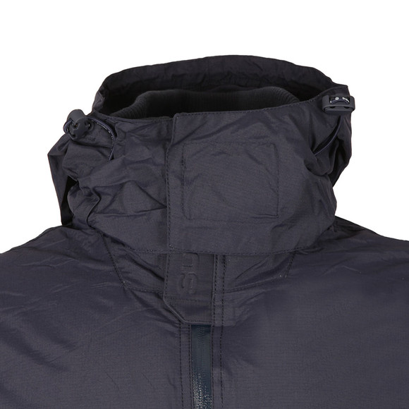 Superdry Mens Blue Arctic Hooded Cliff Hiker Jacket main image