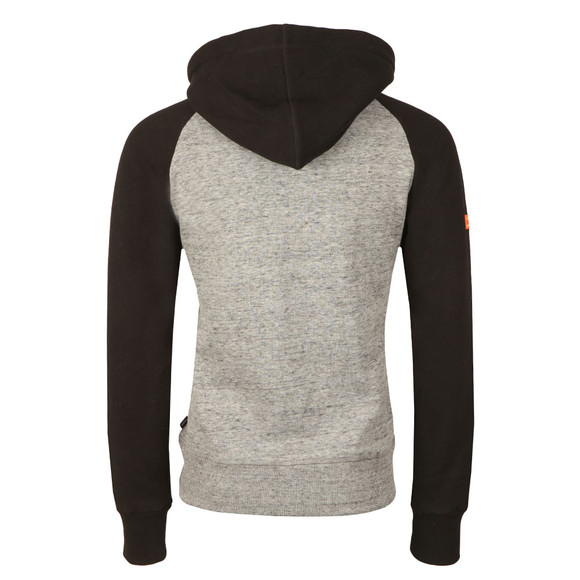 Superdry Mens Grey Premium Goods Raglan Hood main image