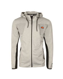 Ellesse Mens Grey Inertia Full Zip Hoody