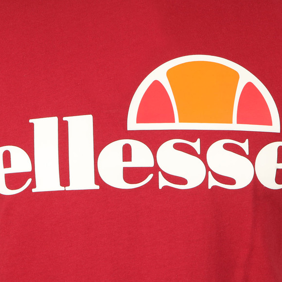 Ellesse Mens Red Prado T Shirt main image