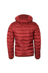 Napapijri Mens Red Aerons Hooded Jacket