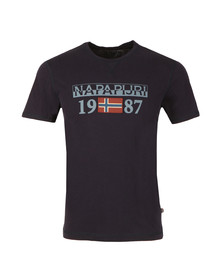Napapijri Mens Blue Solin SS Tee