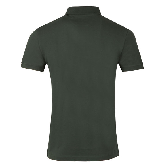 Hackett Mens Green New Classic Plain Polo Shirt main image