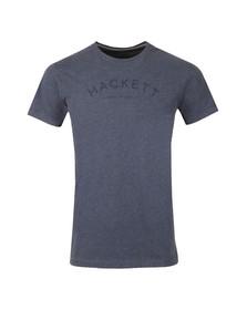 Hackett Mens Blue S/S Logo Tee