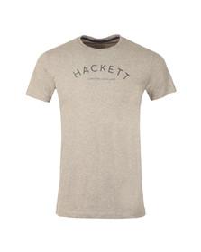 Hackett Mens Grey S/S Logo Tee
