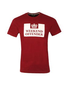 Weekend Offender Mens Red Prison T-Shirt