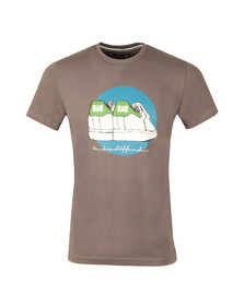 Weekend Offender Mens Grey Stan T Shirt