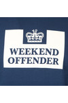 Weekend Offender Mens Blue Penitentiary Classic Crew Sweatshirt