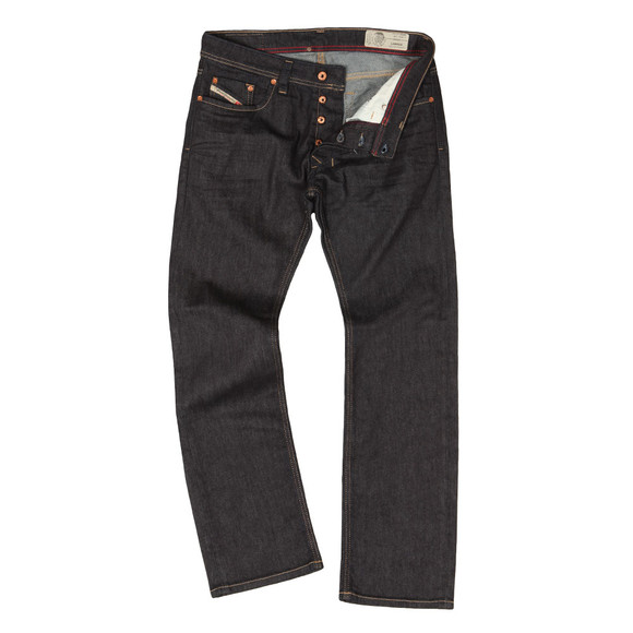 Diesel Mens Blue Larkee 084HN Straight Jeans main image