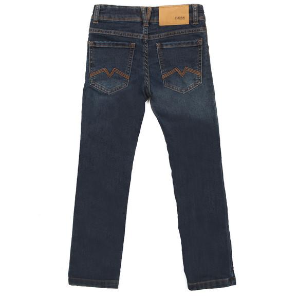 BOSS Loungewear Boys Blue Super Slim Fit Jean main image