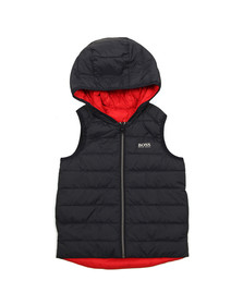 Boss Boys Blue Reversible Gilet
