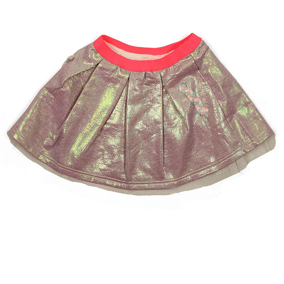 Billieblush Girls Metallic Metallic Skirt main image