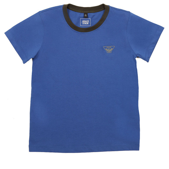 Armani Junior  Boys Blue 6Y4T11 Ringer T Shirt main image