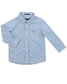 Gant Boys Blue The Broadcloth Gingham Shirt