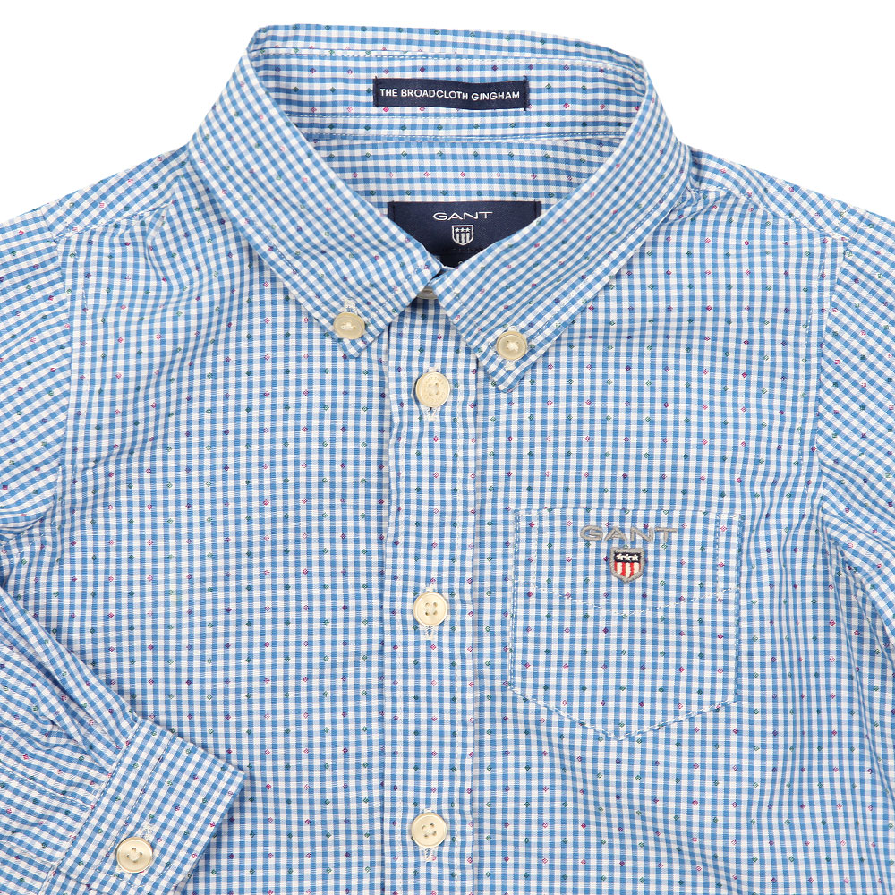 The Broadcloth Gingham Shirt main image