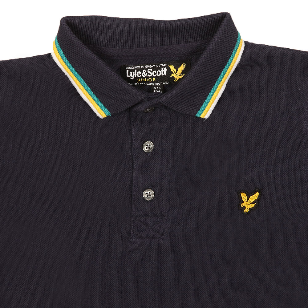 Plain Tipped Polo Shirt main image